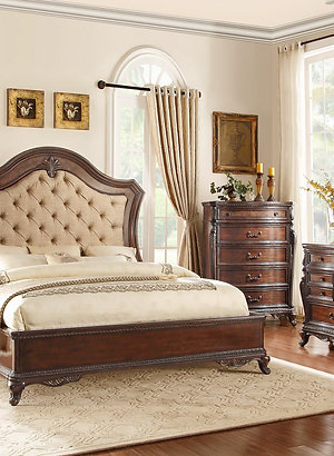 Bonaventure Park Collection Queen Bed by Homelegance