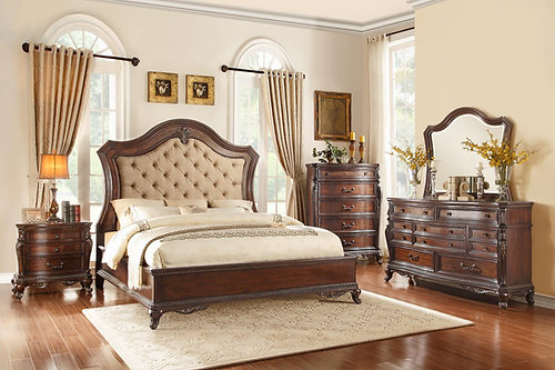 Bonaventure Park Collection California King Bedroom Set by Homelegance. SC   Rock Hill   DCW FURNITURE Near Charlotte  NC   4 pc