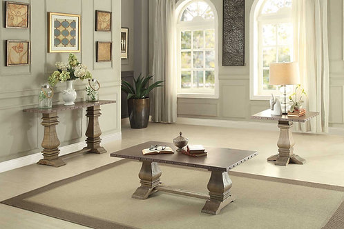 Anna Claire Collection Table Set (w/ one End Table) by Homelegance