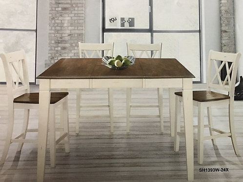 Ohana Collection 7 Piece Counter Height Table Set by Homelegance