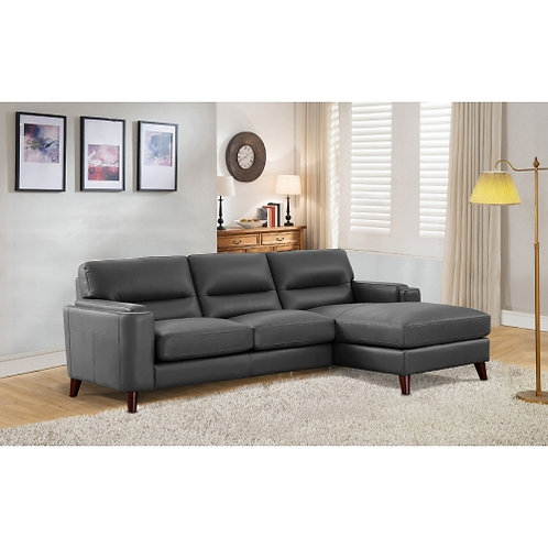 Miami Top Grain Leather Sofa Sectional