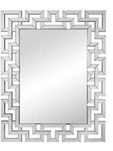 Clear Winslow Modern Wall Mirror