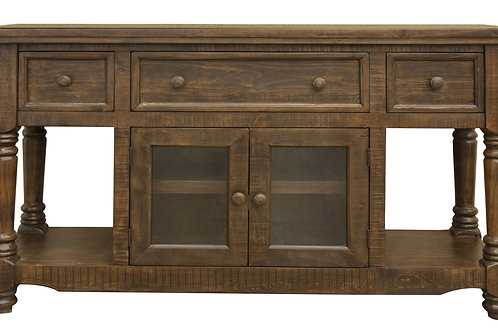 """Botero 60"""" Two-Tone Brown TV Stand"""