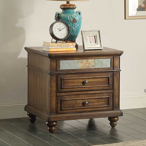 Chehalis Collection End Table by Homelegance