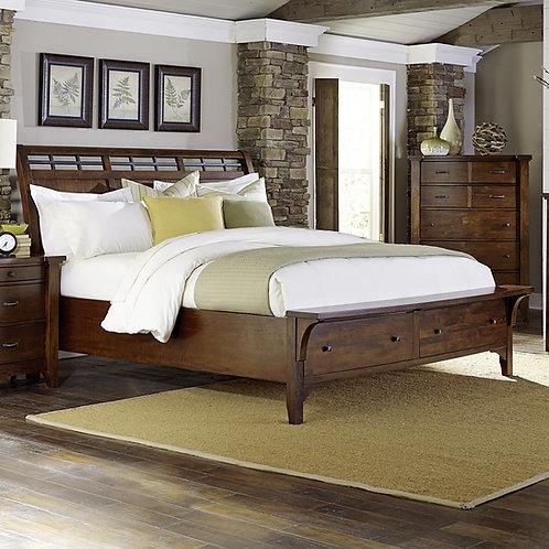 Whistler Retreat 5 piece Queen Bedroom Set