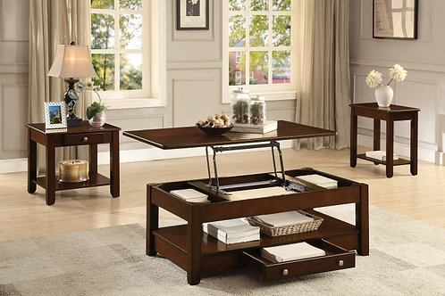 Ballwin Collection Table Set (w/ two End Tables) by Homelegance