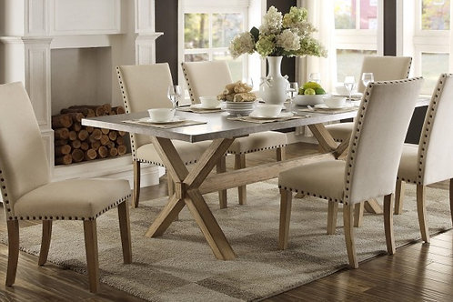Luella Collection 7 Piece Table Set by Homelegance