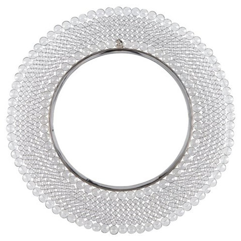 Crystal Marly Accent Mirror