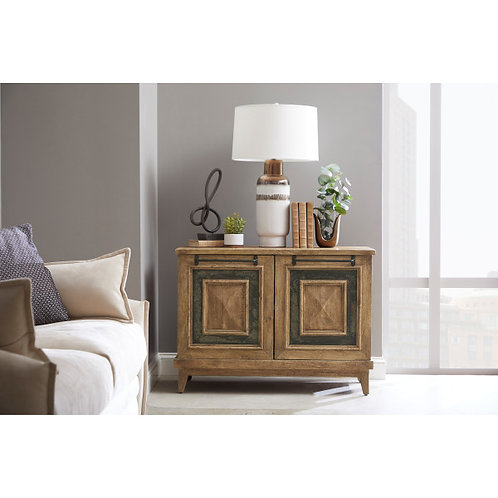 Rustic Stone Insert Two Door Chest by Pulaski