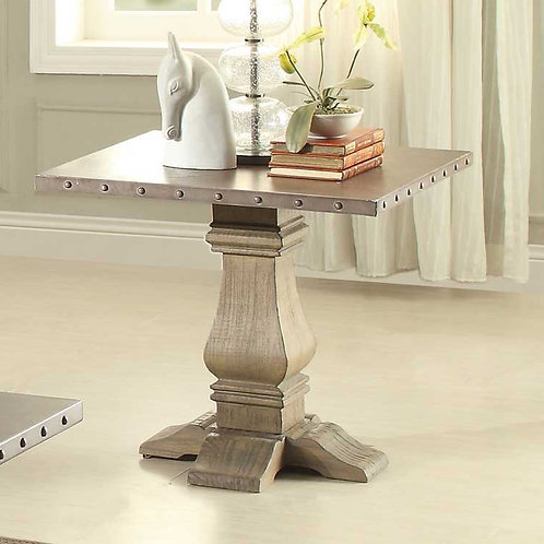 Anna Claire Collection End Table by Homelegance