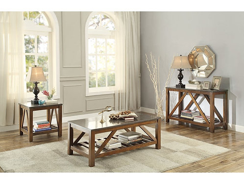 Ashby Collection Table Set (w/ one End Table) by Homelegance