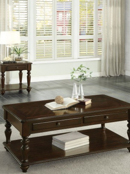 Lovington Collection Table Set (w/ two End Tables) by Homelegance