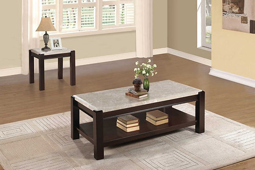 Festus Collection Table Set (w/ two End Tables) by Homelegance