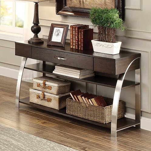 Tioga Collection Sofa Table by Homelegance