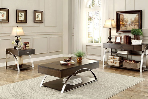 Tioga Collection Table Set (w/ one End Table) by Homelegance