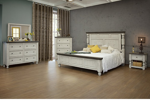 Stone 5 pc Bedroom Set