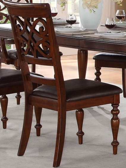 Creswell Collection Side Chair Set of 2 by Homelegance