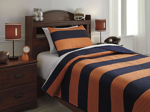 Nixon 2-Piece Twin Coverlet Set