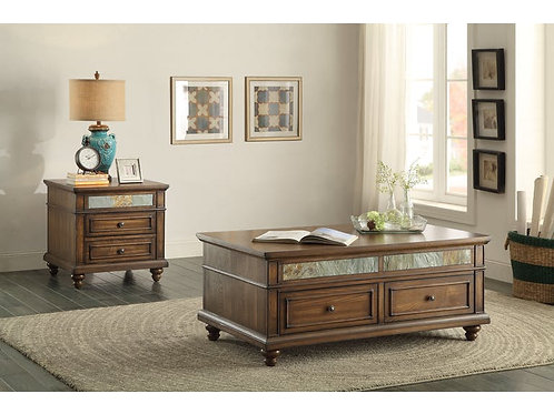Chehalis Collection Table Set (w/ two End Tables) by Homelegance