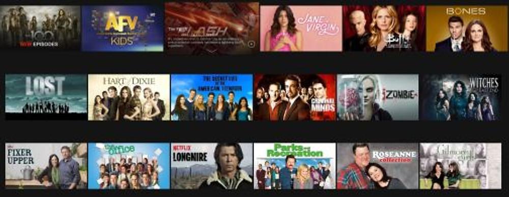 tv shows netflix