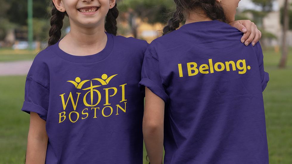 WOPI KIDS' T. Shirt #11
