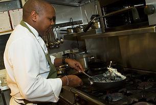 Chef Patron John Chomba