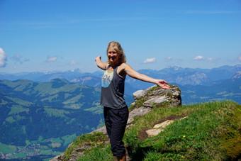 From Sunrise to Summit: Hiking Up Kitzbüheler Horn