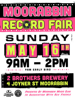 MRF - STREET POSTER - MAY 16th -PINK and