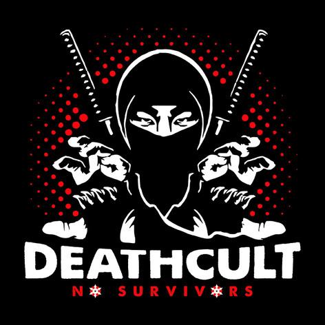 Ninja Deathcult Black Tee