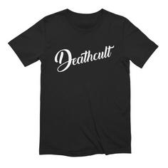 Deathcult Logo Black Tee
