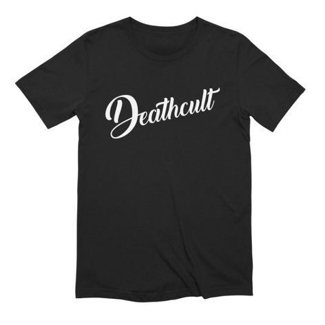 Deathcult Logo Black Tee