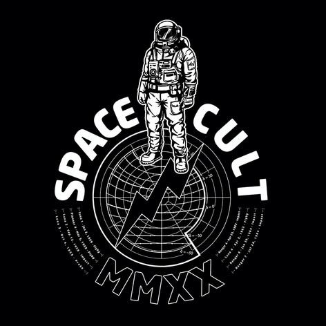 Spacecult Black Tee