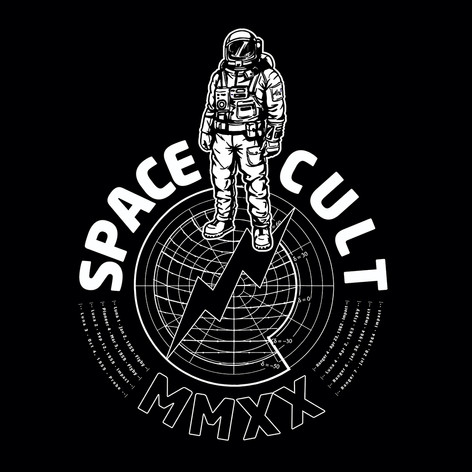 Spacecult Black Tee