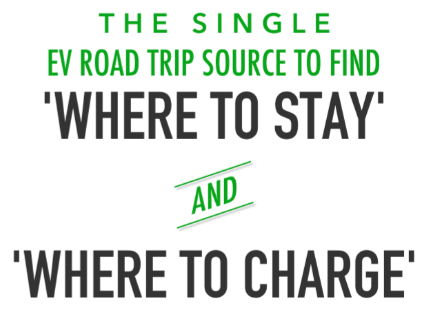 EVHotels App is the single EV Road Trip Source to find hotels that have EV charging