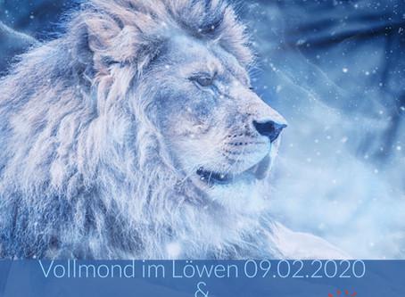 Trau Dich....Zeig Herz! Vollmond im Löwen am 09.02.2020
