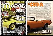 Mopar Collector's Guide 1970 Cuda Convertible Article