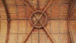 Eglise du Pré d'Auge, Voûte en berceau ogival  Photo  © M. Tribehoiu