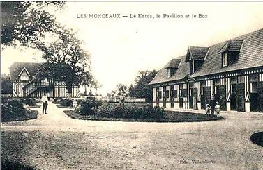 Le haras des Monceaux, début XXe siècle