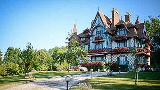 La villa Strassburger, Deauville