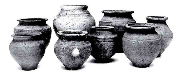 Nécropole du Grand Jardin. Vases ovoïdes (Ier-IIIe siècle)