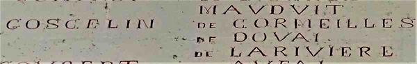 La liste de Dives Dives : Les compagnons de Guillaume le Conquérant