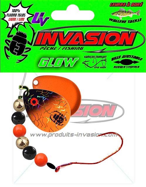 Harnais ajustable SlowDeath 21 GLOW Orange Noir