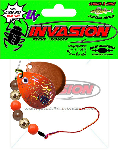 Harnais ajustable SlowDeath 12 Orange Brun