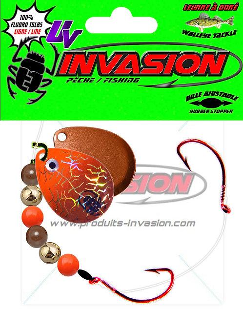 Harnais ajustable WideGap 12 Orange Brun