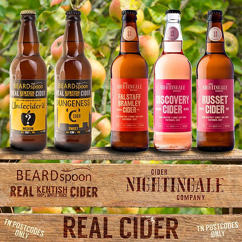 Mixed Local Ciders x12
