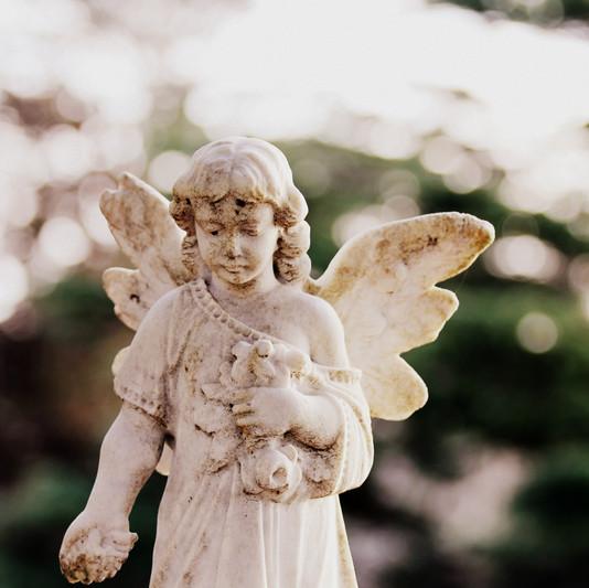 Memorial Stone Angel