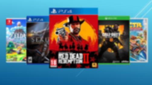 Videojuegos PS4,box y Nintendo