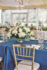Pantone Classic Blue Wedding Tablescape