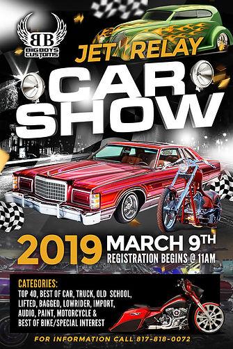 Jet Relays Car Show