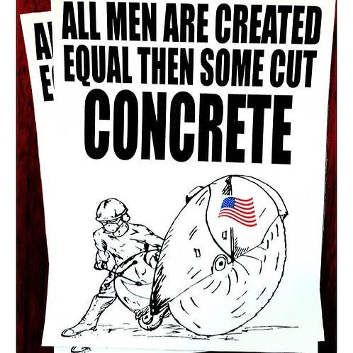 All men sticker